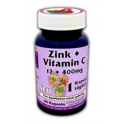 Zink-Vitamin C- 12/400 mg...