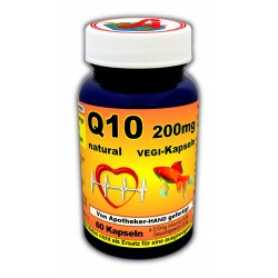 Q10 200mg natural plus Kapseln