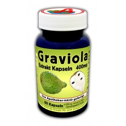 Graviola 400 mg Extraktkapseln