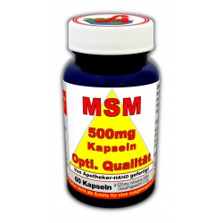 MSM 500 MG Optimum Quality...