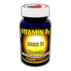 Vitamin D 3000 I.E. Kapseln