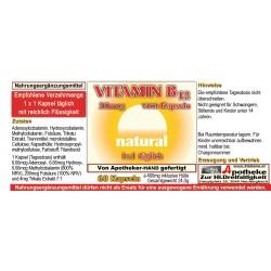Vitamin B12 20mcg natural...